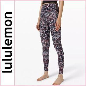 "FIRM PRICE NEW Lululemon Align HR Printed Pant 28"""